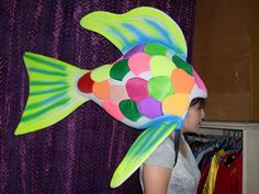 Fish Puppet for Rainbow Fish production by ITheatre (2008)