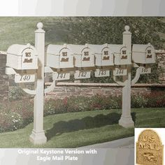 Original Keystone Series Inner Deluxe Post Custom Order for Multi-Units of 6 or moret (Contact us for Quote)