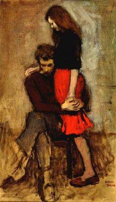 Consolation--Raphael Soyer