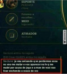 Olha esse plano.. Pqp.. Kkkkk Gaming Memes, League Of Legends, Haha, Nerd, Funny Memes, Feelings, Games, Troll, Random