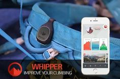 Whipper Wearable Climbing Performance and Fitness Tracker with Smart Coach