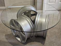 Wheels Mania: Come riciclare cerchi per auto facendoli diventare oggetti d'arredamento e da collezione