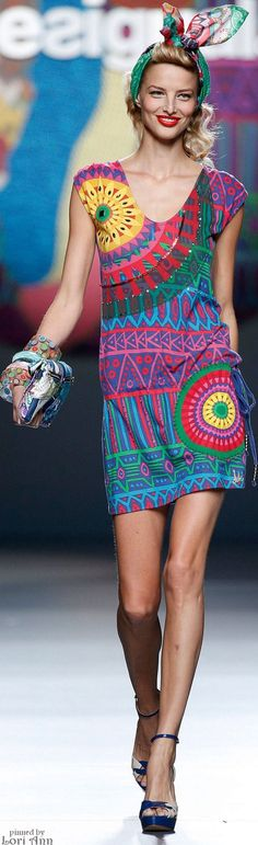 Desigual Spring 2015 | House of Beccaria~