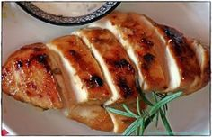 Marinated chicken breasts from the oven - love for bread . and more - Kulinarisch - Chicken Recipes Oven Baked Chicken, Baked Chicken Breast, Marinated Chicken, Chicken Breasts, Marinated Tomatoes, Savoury Baking, Vegan Baking, Kids Meals, Easy Meals