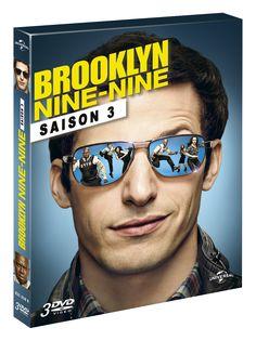 Nouveau concours: BROOKLYN NINE NINE 2 coffrets 3 DVD Saison 3 à gagner