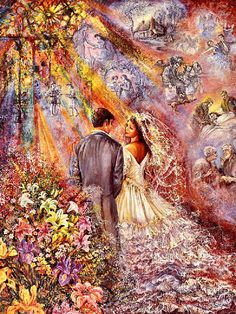 """The Wedding 2"" par Josephine Wall"