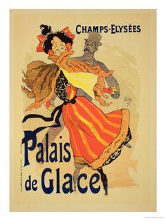 §§§ : Palais de Glace : Jules Chéret : 1900-