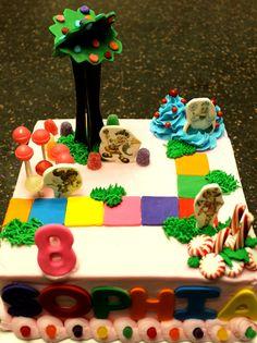 Candy Land Cake (: