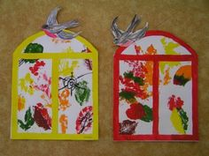 Autumn Crafts, Autumn Art, Autumn Trees, Diy Crafts For Kids, Art For Kids, Arts And Crafts, Autumn Activities, Activities For Kids, Easy Projects