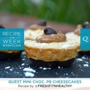 Quest Mini Chocolate PB Cheesecakes | Quest Nutrition