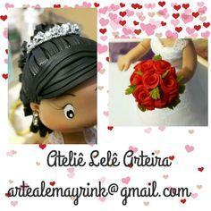 #sobencomenda #AtelieLeleArteira #biscuit #porcelanafria #topodebolo #noivinhos #amooquefaço #AlessandraMayrink #casamento #detalhesqueencantam