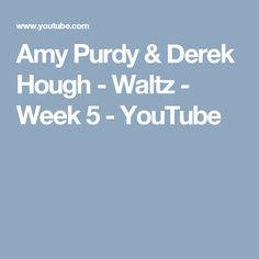 Amy Purdy & Derek Hough - Waltz - Week 5 - YouTube