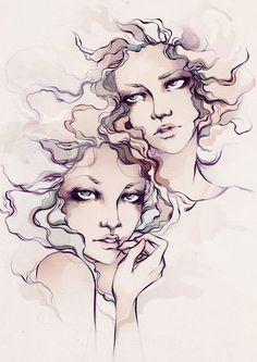We Are Waves by Soleil Ignacio, via Behance