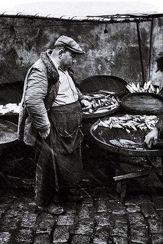 Samatyalı Balıkçı Dikran Dayı (1959) Fotoğrafçı: Ara Güler