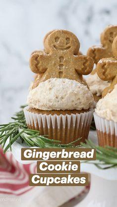 Christmas Cooking, Christmas Desserts, Christmas Treats, Christmas Cupcakes, Christmas Recipes, Christmas Fun, Holiday Recipes, Xmas, Homemade Cupcake Recipes