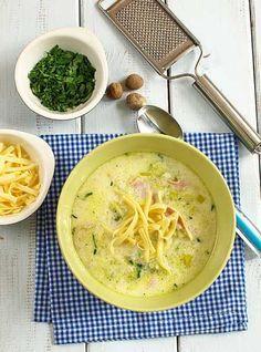 Przepis na Duńska zupa z porów - MniamMniam.com
