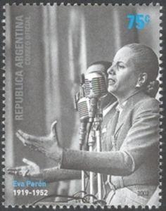 Sello: Evita (Argentina) (50th Anniversary of the death of María Eva Duarte de Perón) Mi:AR 2747,WAD:AR032.02