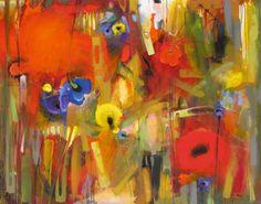 "Saatchi Online Artist: Chico Harkrader; 2010, Mixed Media ""Floral Architecture"""