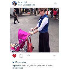 A linda médica e mamãe da Helena @ispazzini foi dar uma voltinha com a família no RJ e levou seu #Coleteria para deixar o passeio ainda mais gostoso! #coleteria | sempre♡ #havana #jeans #colete #vest  www.coleteria.com.br♡