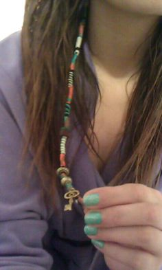 Hair Accessories | Beaded Hippie Hair Wrap #PaulMitchellSchools http://paulmitchell.edu/