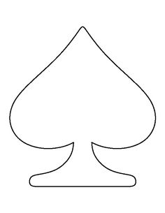 cut out the shape and use it for coloring crafts stencils and more