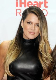 khloe kardashian ombre brown/blonde
