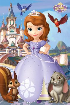 : # Sofia The First - Clover, Whatnaught, Mia And Robin. Artist: Sofia The First. Title: Clover, Whatnaught, Mia And Robin.