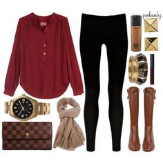 A fashion look from November 2012 featuring Zadig & Voltaire tunics, Warehouse leggings and Steve Madden boots. Browse and shop related looks.