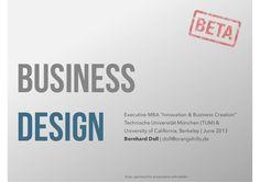 business-design-beta by Bernhard Doll via Slideshare