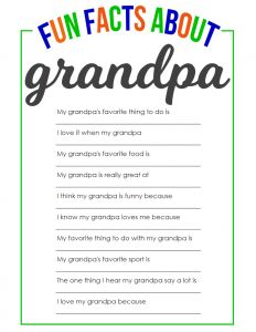 Fun Facts About Grandpa Father's Day Printable clever fathers day gifts, dad day crafts, handprint fathers day gifts Facts About Grandpa Father's Day Printable Grandpa Birthday Gifts, Grandpa Gifts, Gifts For Dad, Fathers Day Presents, Papa T Shirt, Quotes Girlfriend, Father's Day Printable, Father's Day Activities, Daddy Day