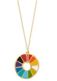 Super fun colorwheel necklace