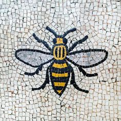 Prince William was joined by Theresa May and Jeremy Corbyn for the service at Manchester Cathedral today as well as first responders to the scene, civic leaders and other national figures. Manchester Worker Bee, Manchester Art, Manchester Cathedral, Bee Stencil, Bee Friendly Plants, Worker Boots, Bee Tattoo, Bee Art, Gardens