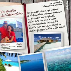 Venite a fare una passeggiata con noi alle Maldive sulla spiaggia dell'isola di Vakarufalhi? Incastonata come un gioiello nell'incontaminato atollo di Ari, vi aspetta per mostrarvi la sua meravigliosa natura e il mare dai mille colori!