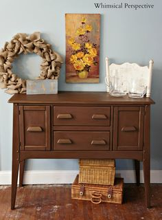 Annie Sloan Chalk Paint - Brown and Bronze by Whimsical Perspective