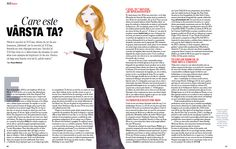One of my favorite articles (about age issues), featured in  Beau Monde Romania magazine, April 2015 issue