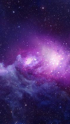 Purple Blue Galaxy Nebula Art Print by Galaxy Space, Galaxy Art, Pink Galaxy, Cool Wallpaper, Wallpaper Backgrounds, Purple Galaxy Wallpaper, Space Backgrounds, Whatsapp Wallpaper, Galaxy Background