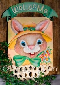March 2015 – Bunny Banner – Decorative Painting Club