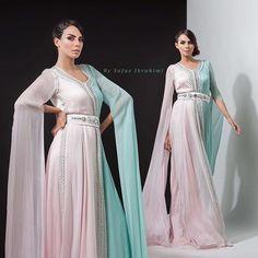 Romantic😍😍 #pastel colors super #style #fashion #glamour #unique #kaftan by me #hautecouture #handmade #swarovski #morocco #dubai #mydubai #lifestyle #qatar #doha #bahrain #kuwait #abudhabi #emirates #ksa #riyadh ##فاشن #المغرب #الخليج #السعودية #الامارات #دبي #fashionista #blogger @jadrifari @ibtissam.ittouchane @madihachabrakhitmakeupartist @safaeibrahimidesign