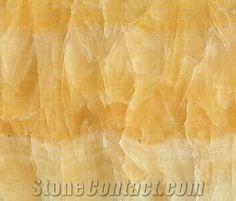 Yellow Honey Onyx Slab