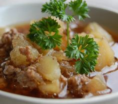 Go Asian and try this #Japanese style #potato and #beefstew