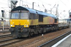 Colas class 66 Electric Locomotive, Diesel Locomotive, Monster Pictures, British Rail, A Beast, Bahn, Train Travel, Britain, Shed