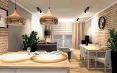 Decor, Living Room, Room, Living Room Kitchen, Ceiling Lights, Small Kitchen, Home Decor, Kitchen, Small