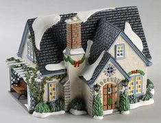 Snow Village Hidden Ponds House - Boxed by Department 56 Department 56 Christmas Village, Dept 56 Snow Village, Christmas Village Houses, Christmas Villages, Halloween Labels, Vintage Halloween, Halloween Halloween, Halloween Makeup, Halloween Costumes
