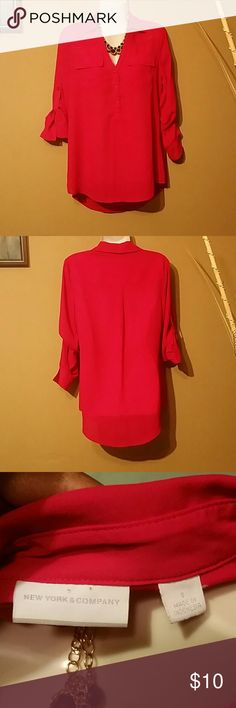 New York & Company top Great condition only worn once. New York & Company Tops