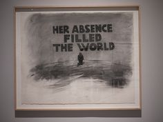 HER ABSENCE FILLED THE WORLD pauladamsmith