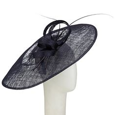 dfcac3f8a7305 Buy John Lewis Pip Side Up Disc Occasion Hat Online at johnlewis.com Occasion  Hats