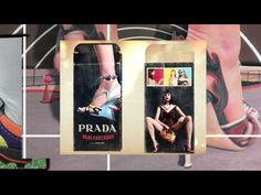 """Prada's S/S 2012 lookbook: """"a visually arresting time warp"""" of cutouts and collages"""
