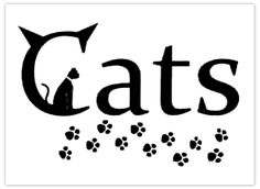 cat graphic . . . StoneArtUSA.com ~ since 2001
