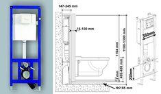 Высота инсталляции для унитаза