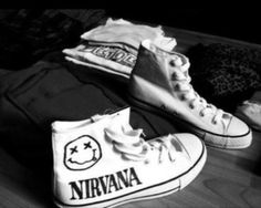 Nirvana band merch I want soo bad!